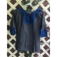 Boy's AS Tunic - M/10 Charcoal Grey and Dark Blue