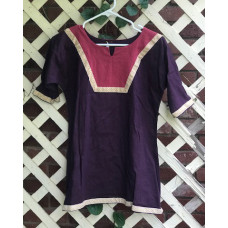 Girl's AS Overtunic - M/10 Purple and Pink