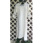 "Girl's AS Undertunic - L 12 Ivory 44"" Linen"
