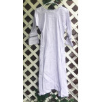 "Girl's AS Undertunic - L 12 Pale Lilac 44"" Linen"