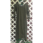"Girl's AS Undertunic - L 12 Olive 44"" Linen"