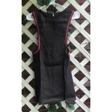 Girl's Surcoat - XS/4 Brown Linen
