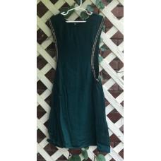 Girl's Surcoat - XS/4 Emerald Linen
