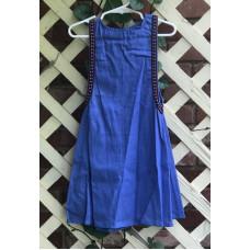 Girl's Surcoat - XXS/2T Light Royal Linen