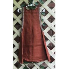 Girl's Surcoat - XXS/2T Brown Linen