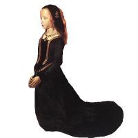 Girl's Burgundian