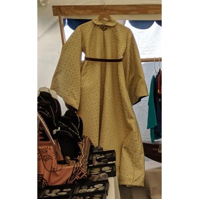 Woman's Houppelande - Gold Brocade - Size 16