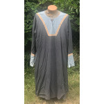 Men's AS Tunic - XL Grey and Light Blue Wool