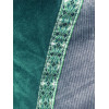Men's AS Tunic - XL Grey Corduroy and Green Velvet