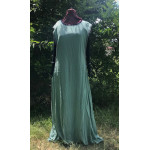 Linen Surcoat - 2X Seafoam Green