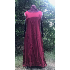 Linen Surcoat - 3X Dark Rose Red