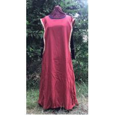 Linen Surcoat - 3X Salmon Pink