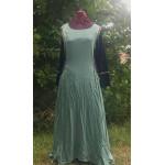 Linen Surcoat - L Seafaom Green