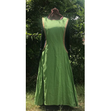 Linen Surcoat - M Apple Green