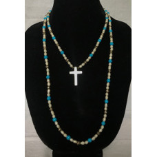 Tudor Double Strand Necklace