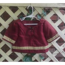 Boy's Early Ren Tunic - 3 Red