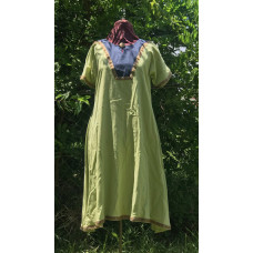 Women's AS Overtunic - L Light Green/Blue