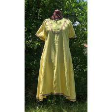 Women's AS Overtunic - L Yellow/Light Green