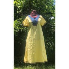 Women's AS Overtunic - XL Yellow/Blue
